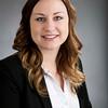 Young woman business executive headshot portrait