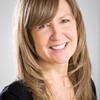 Smiling woman executive portrait
