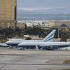 Airbus A340-541 (cn 560) VP-BMS & Boeing B747SP-31 (cn 21961) VP-BLK