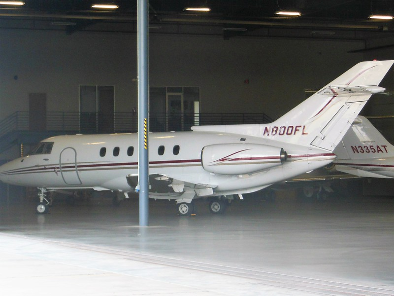 British Aerospace BAe 125-800A (cn 258005) N800FL