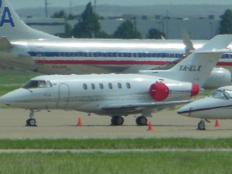 British Aerospace BAe 125-800XP (cn 258413) XA-ELX