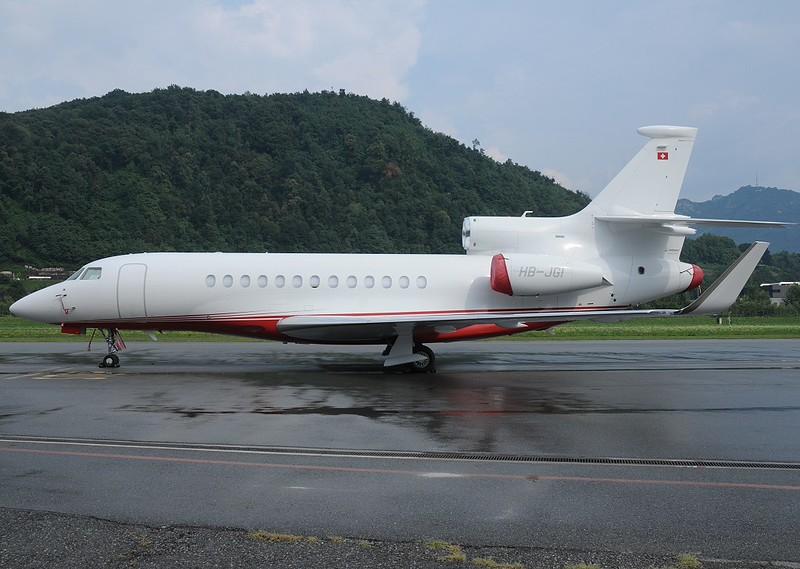 HB-JGI - FA7X - 09.08.2015