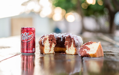 Dr Pepper Cake Stylized-4