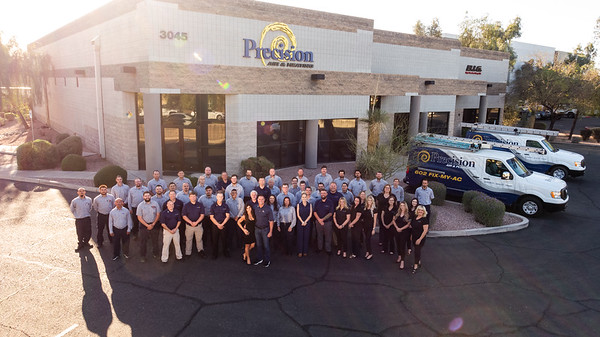 Precision Air and Plumbing 2021_team photo-0294