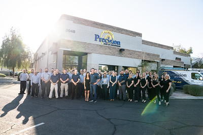 Precision Air and Plumbing 2021_team photo-00437