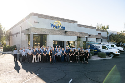 Precision Air and Plumbing 2021_team photo-00446