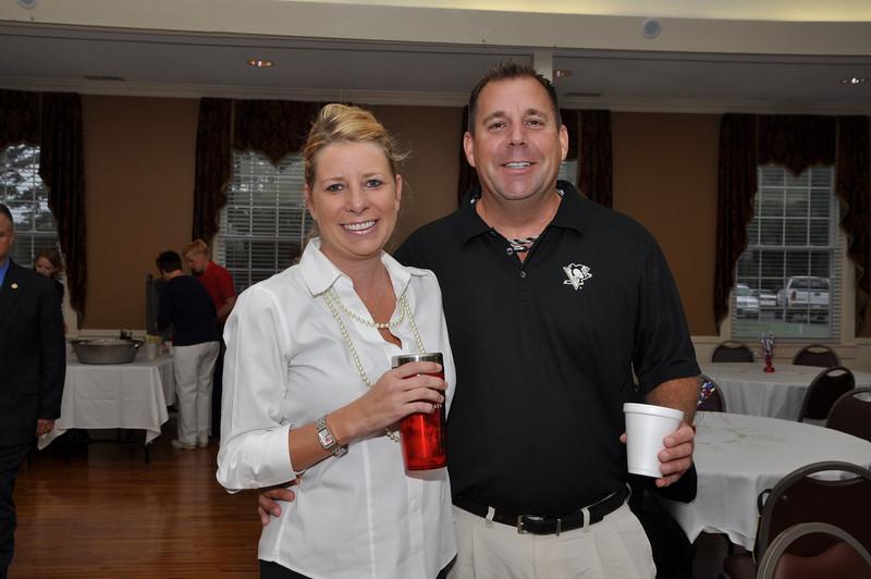 ARC Board Member Caroline Adams and Dominic Bertuca