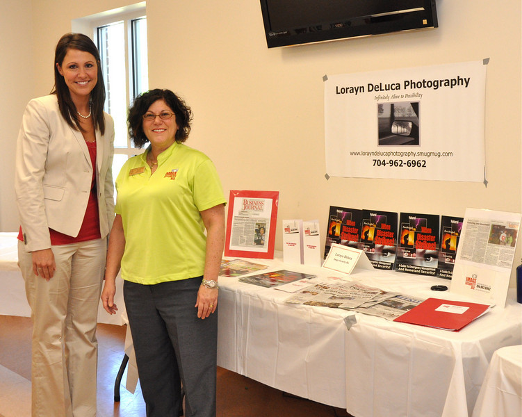 Lindsay Albright of Hood, Hargett & Associates Insurance and Lorayn DeLuca, President and Owner Image Security