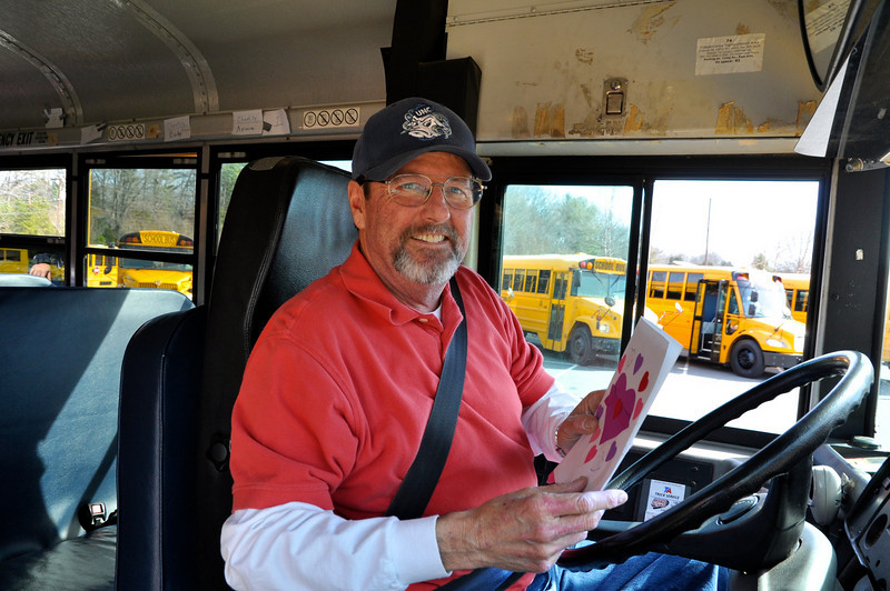 Thanks....you kids made my day!! - Bain El bus driver, David Marshall