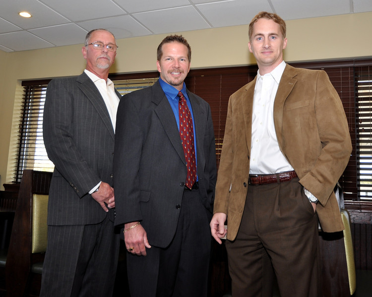 L to R: Mike Sailors, Roger Stanton, Ash Minor