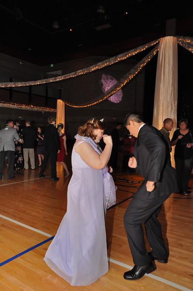 Sherrie Watson and JP Castillo dance the night away.