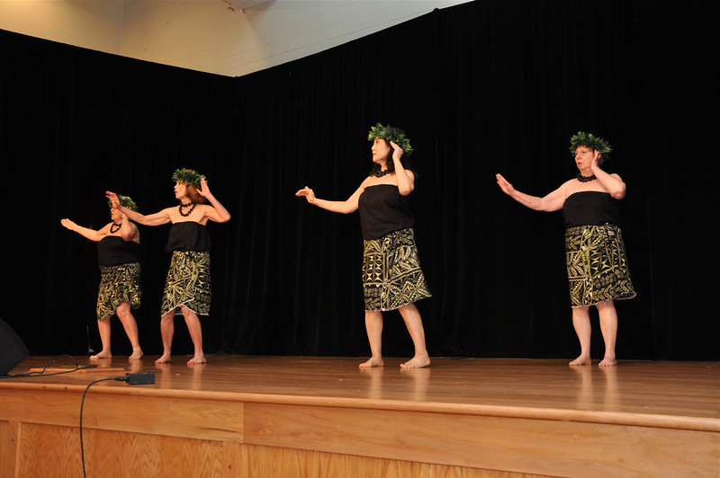 Ona Ona Tutu-E  (Hawaiian Dancers from the Levine Hula Class)