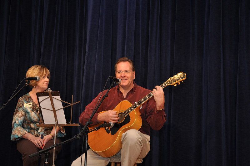 """Vocal Presentation """"In My Life"""" by """"The Commissioners""""-<br /> Nancy Moore and Jeff Miller"""