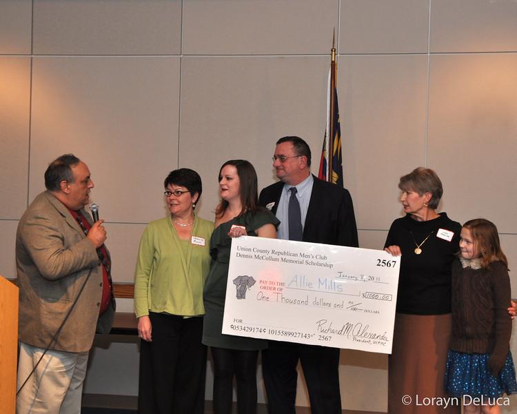 2010 Dennis McCollum Memorial Scholarship Award