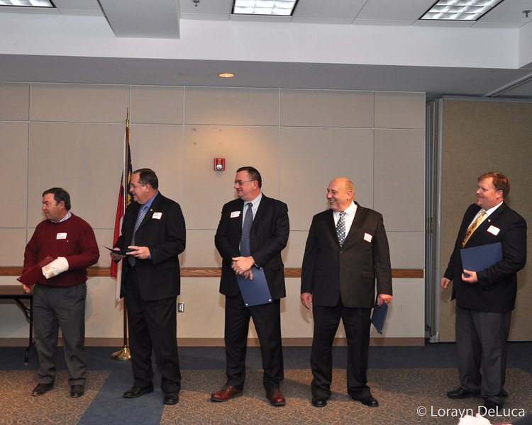 Republican Man of the Year Nominees-Andy Anderson, Ediie Cathey, Parker Mills, Louis Phillippi, Joe Pomykacz, John Steward