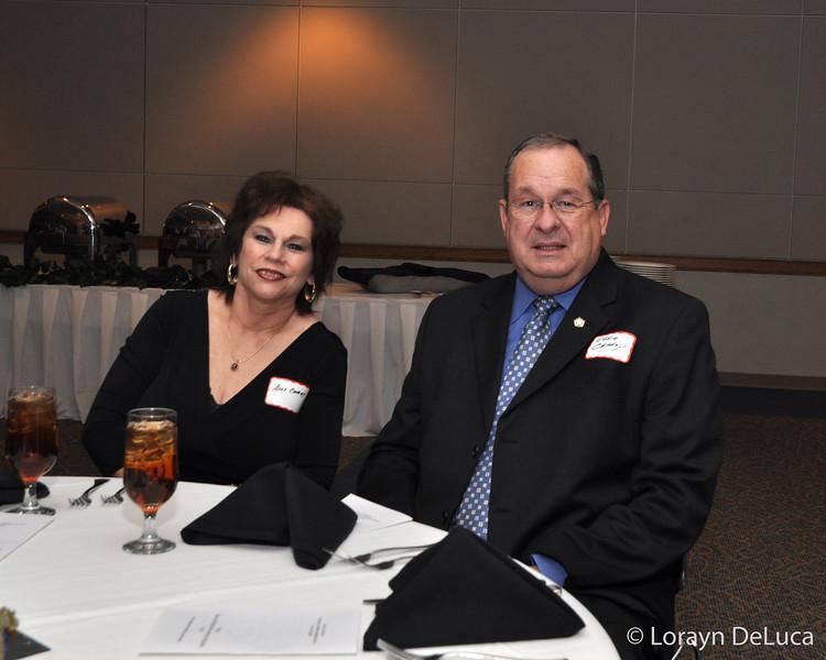 Sheriff Eddie Cathey and wife