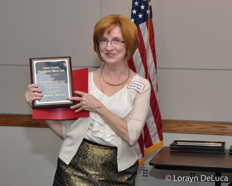 Woman of the Year Deborah Barton