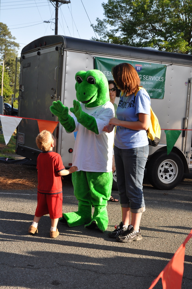 High five with CMCs Lilly Pad
