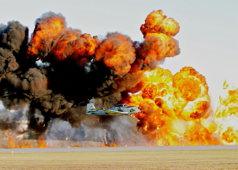 Monroe's Annual Warrior and Warbirds Air Show