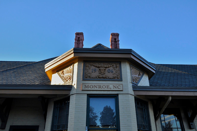 Monroe Train Station 1906