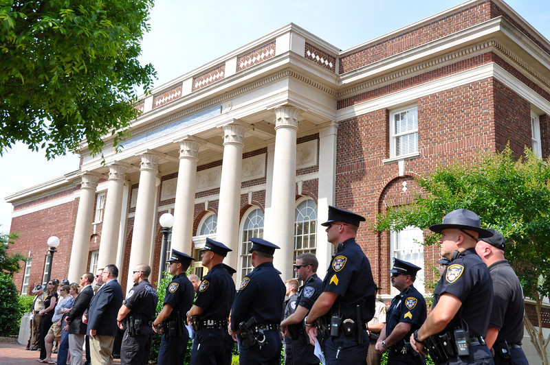 Monroe Police at UC Police Week Ceremony