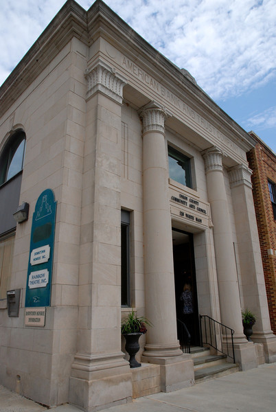 Union County Community Arts Council in Historic American Bank and Trust Building
