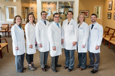 Group Portrait of Asheville Doctors