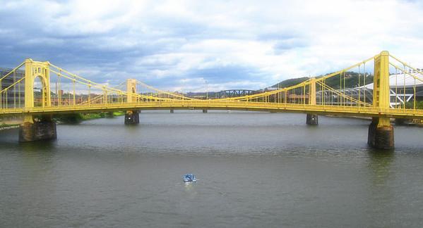 Yellow Bridges of Pittsburg