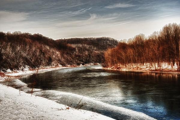 Winter Along The Delaware