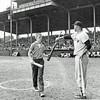 Bat Boy for Yankees and Senators - Ned Jones
