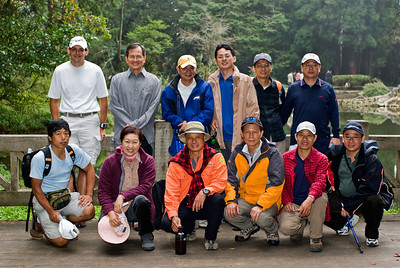 Business trip and hiking with GLT co-workers in Yushan National Park