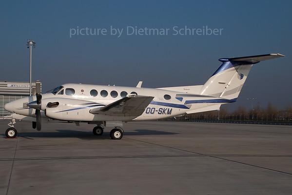 2007-12-17 OO-SKM Beech 200 King Air