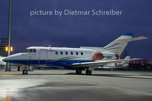 2008-12-25 VP-BMH Bae125 Polet Flight