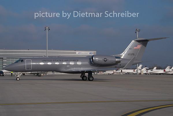 2008-12-31 92-0375 Gulfstream 4 USAF