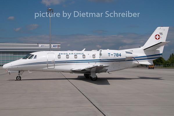 2009-05-07 T-784 Cessna 560XL Swiss Air Force
