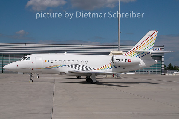 2009-05-07 HB-IAZ Falcon 2000