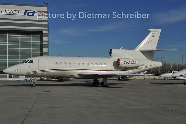 2011-12-13 YV-2486 Falcon 900