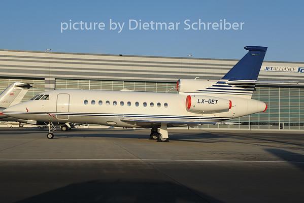 2012-12-12 LX-GET Falcon 900