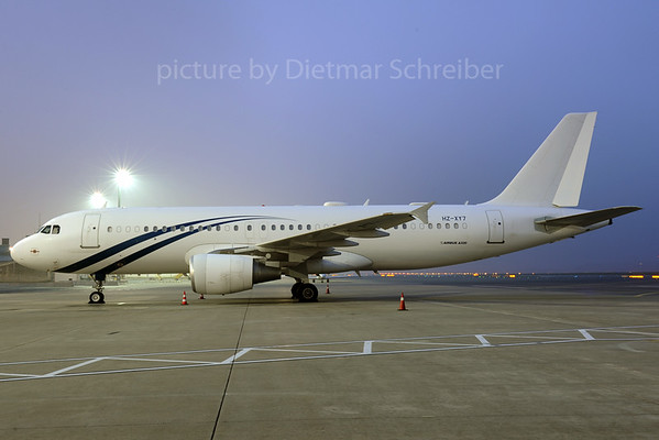 2013-11-19 HZ-XY7 Airbus A320