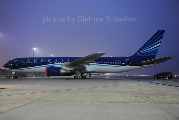 2013-11-19 4K-AI01 Boeing 767-300 Azerbaijan