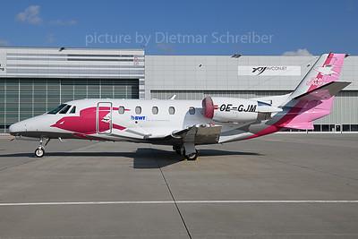 2019-11-01 OE-GJM Cessna 560XL Pink Sparrow