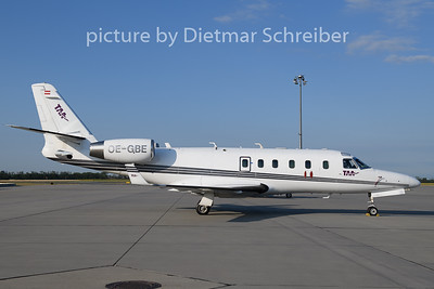 2019-07-03 OE-GBE Gulfstream 100 Tyrolean Air Ambulance