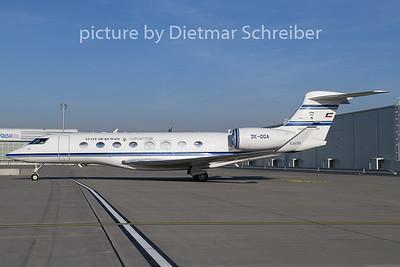 2019-12-04 9K-GCA Gulfstream 650 Kuwait Government
