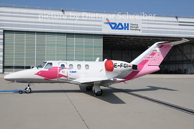 2019-08-27 OE-FGI Cessna 525 Pink Sparrow