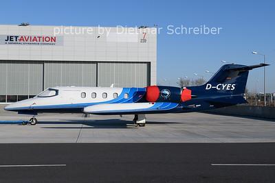 2020-12-27 D-CYES Learjet 35