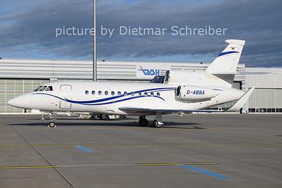 2020-12-27 D-ABBA Falcon 900