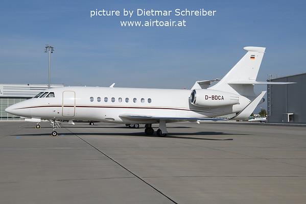 2021-10-19 D-BDCA Falcon 2000