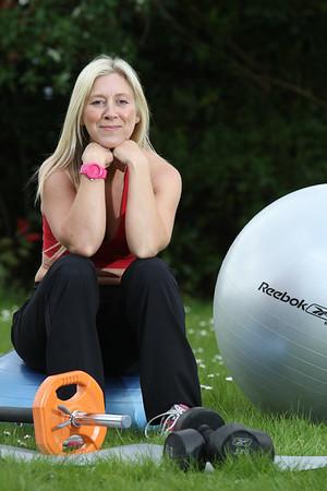 'Fitness' portrait shoot for website