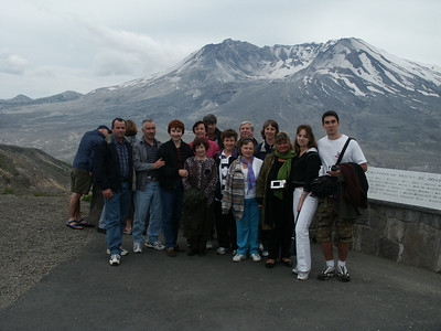 Экскурсия на Mt. St. Helens (июнь 2003)