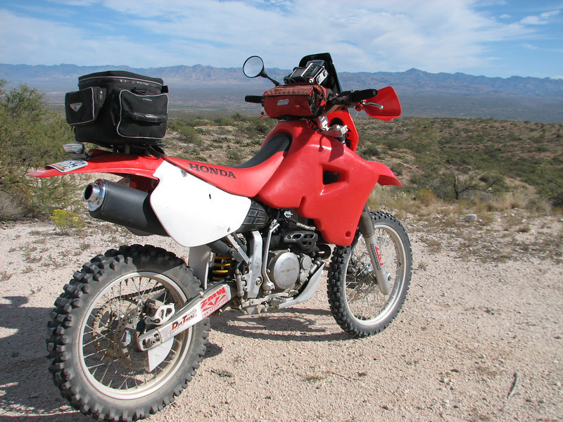 2001 XR650R adventure Build by ZMW.